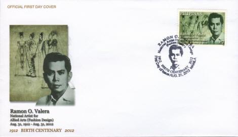Ramon Valera On Philippine Stamps